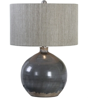 Picture for category Uttermost 27215-1 Vardenis Table Lamps 17in Gray Ceramic Steel&Ceramics