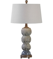 Picture for category Uttermost 27262 Amelia Table Lamps 15in Blue Gray Ceramic Resin