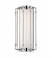 Picture for category Hudson Valley 9712-PN Hyde park Wall Sconces 8in Polished Nickel 1-light