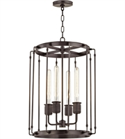 Picture for category Hudson Valley 9716-OB Hyde park Pendants Old Bronze Metal 4-light