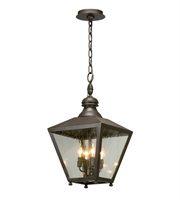 Picture for category Troy F5197 Outdoor Pendant Mumford 12in Bronze Solid Aluminum 4 Light 12 inches