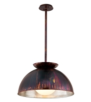 Picture for category Troy F5245 Pendant Library Copper Patina Exterior Opal WorkIron 1 Light 28 inch