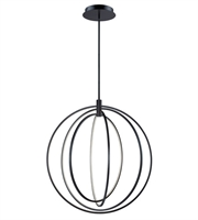 Picture for category ET2 E24049-BZ Concentric Pendants 36in Bronze Aluminum Acrylic 174-light