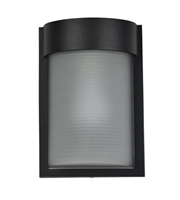 Picture for category Access 20041MG-BL/RFR Destination Wall Sconces 7in Black Aluminum 1-light
