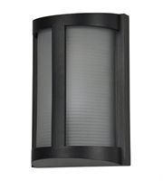 Picture for category Access 20042MG-BL/RFR Pier Wall Sconces 7in Black Aluminum 1-light