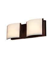 Picture for category Access 62292LEDD-BRZ/OPL Nitro2 Bath Lighting Bronze Metal 2-light