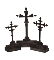 Picture for category Guild Master 252504S Crosses Lighting Accessories 14in Grey Tin