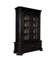 Picture for category Guild Master 603510 Library Furniture 65in Black Mahogany