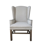 Picture for category Guild Master 6525301 Allcott Chairs 28in Natural Wood Fabric