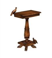 Picture for category Guild Master 719067RS Socle Tables 20in Brown Wood