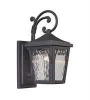 Picture for category Elk 47093/1 Forged Manor Wall Sconces 6in Charcoal 1-light
