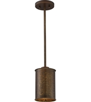 Picture for category Nuvo 60/5892 Kettle Mini Pendants 6in Weathered Brass 1-light
