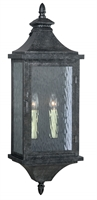 Picture for category Vaxcel T0202 Cavanaugh Wall Sconces 10in Athenian Bronze Steel 2-light