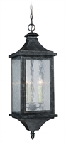 Picture for category Vaxcel T0205 Cavanaugh Outdoor Pendant 10in Athenian Bronze Steel 3-light