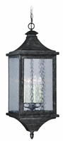 Picture for category Vaxcel T0206 Cavanaugh Outdoor Pendant 12in Athenian Bronze Steel 4-light