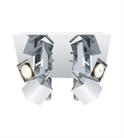 Picture for category Eglo 200391A Manao Spot Lighting 12in Chrome 4-light