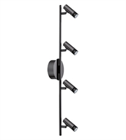 Picture for category Eglo 201222A Lianello Track Lighting 5in Black Chrome 4-light