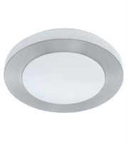 Picture for category Eglo 93287A Carpi Flush Mounts Brushed Aluminum 1-light