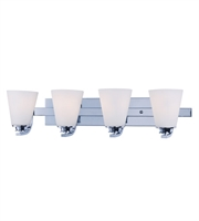 Picture for category Maxim 9014SWPC Conical Bath Lighting 26in Polished Chrome 4-light