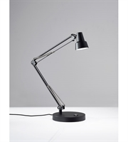 Picture for category Adesso 3780-01 Quest Desk Lamps 1-light