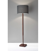 Picture for category Adesso 4093-15 Ellis Floor Lamps 16in Walnut Wood Grain 1-light