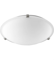 Picture for category Quorum 3000-16165 Signature Semi Flush 16in Satin Nickel 3-light