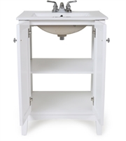 Picture for category Elegant VF-2003 Danille Furniture 18in White Poplar MDF Porcelain
