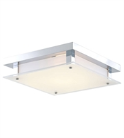 Picture for category DVI DVP10348CH-SSW Helios Flush Mounts Chrome 1-light