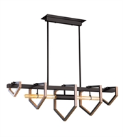 Picture for category DVI DVP16002GR Urban Cottage Pendants Graphite 2-light