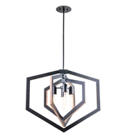Picture for category DVI DVP16005GR Urban Cottage Pendants Graphite 4-light