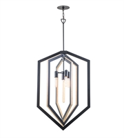 Picture for category DVI DVP16049GR Urban Cottage Pendants Graphite 4-light