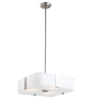 Picture for category DVI DVP18006SN-SSOP KII Pendants Satin Nickel 3-light