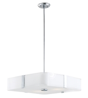 Picture for category DVI DVP18008CH-SSOP KII Pendants Chrome 3-light