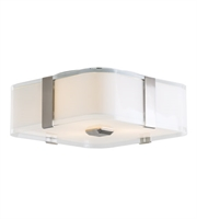 Picture for category DVI DVP18032SN-SSOP KII Flush Mounts Satin Nickel 3-light