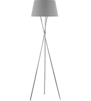Picture for category Dimond D3186 Excelsius Floor Lamps 16in Polished Nickel Metal Faux Silk 1-light