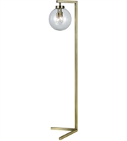 Picture for category Dimond D3266 Carnegie Hill Floor Lamps 13in Antique Brass Metal Glass 3-light