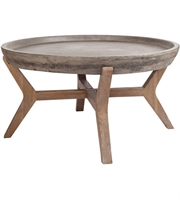 Picture for category Guild Master 157-035 Tonga Tables 32in Concrete Acacia Wood