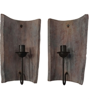Picture for category Guild Master 305001S Terra Cotta Wall Sconces 8in Aged Terra Cotta Terra Cotta