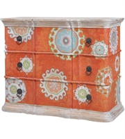 Picture for category Guild Master 6415506 Harmony Furniture 48in Mottled Tangerine Mahogany