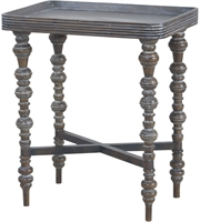Picture for category Guild Master 7115556 Heritage Tables 22in Heritage Grey Stain Mahogany
