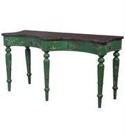 Picture for category Guild Master 714071 European Farmhouse Tables 58in Green Mahogany