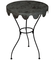 Picture for category Guild Master 714567 Wine Country Tables 22in Black Metal