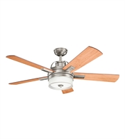 Picture for category Kichler 300024AP Lacey II Ceiling Fans 52in Antique Pewter Steel 1-light