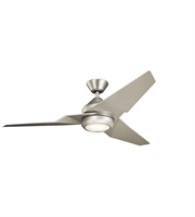 Picture for category Kichler 300030NI Jade Ceiling Fans 60in Brushed Nickel Steel 1-light