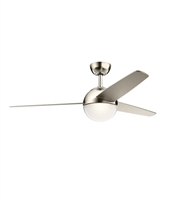 Picture for category Kichler 300710PN Bisc Ceiling Fans 56in Polished Nickel Steel 1-light