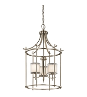 Picture for category Kichler 43139AP Tallie Chandeliers 20in Antique Pewter Steel 3-light