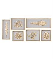 Picture for category Uttermost 04074 Golden Leaes Decor 11in Gold Leaf Mdf