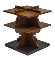 Picture for category Uttermost 25752 Niko Tables 21in Honey Mdf Carb Phase 2 With Mango Wood
