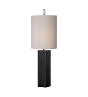 Picture for category Uttermost 29359-1 Delaney Table Lamps 10in Marble Iron Marble Fabric 1-light