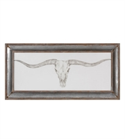 Picture for category Uttermost 51106 Western Skull Mount Decor 71in Animal Print